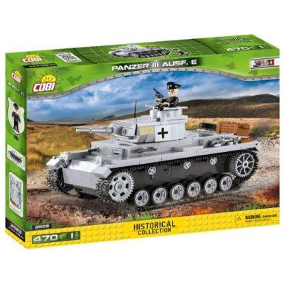 Klocki COBI Historical Collection: Panzer III Ausf.E - niemiecki czołg średni 2523