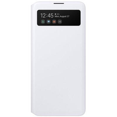 Etui SAMSUNG S-View Wallet Cover do Galaxy A51 Biały EF-EA515PWEGEU