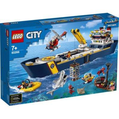 Klocki LEGO City - Statek badawczy oceanu 60266