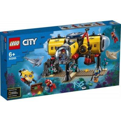 Klocki LEGO City - Baza badaczy oceanu 60265