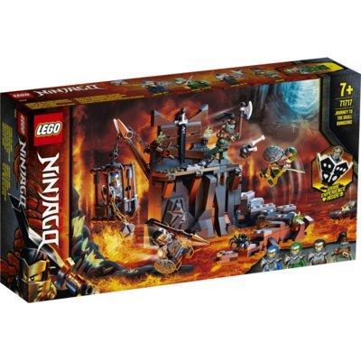 Klocki LEGO Ninjago - Podróż do Lochów Czaszki 71717