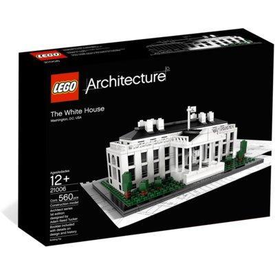 Klocki LEGO Architecture - Biały Dom 21054