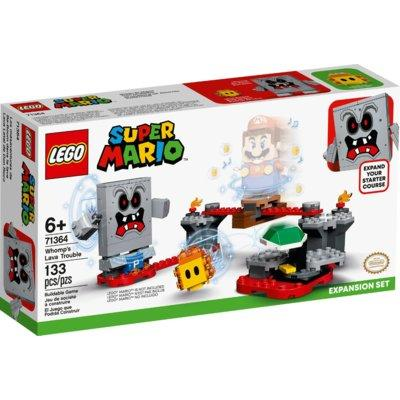 Klocki LEGO Super Mario - Tarapaty w forcie Whompa zestaw rozszerzający 71364