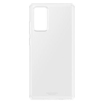 Etui SAMSUNG Clear Cover Galaxy Note 20 Przezroczysty EF-QN980TTEGEU