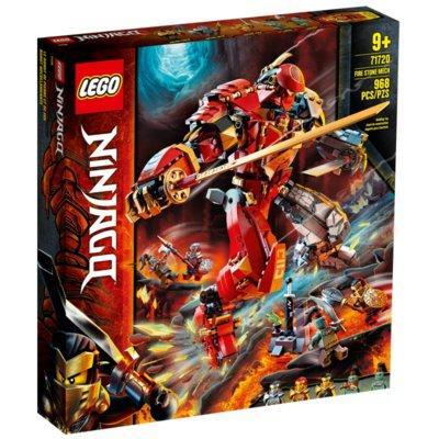 Klocki LEGO Ninjago - Mech z ognia i kamienia 71720
