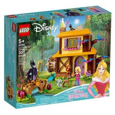 Klocki LEGO Disney Princess - Leśna chatka Aurory (43188)