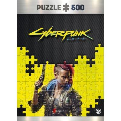 Puzzle GOOD LOOT Cyberpunk 2077: Keyart Female V puzzles 500