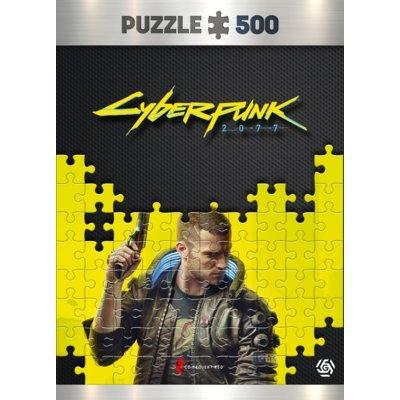 Puzzle GOOD LOOT Cyberpunk 2077: Keyart male V puzzles 500