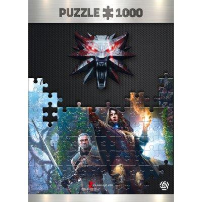 Puzzle GOOD LOOT The Witcher (Wiedźmin): Yennefer puzzles 1000