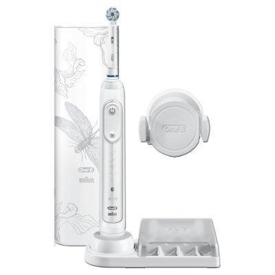 Produkt z outletu: Szczoteczka elektryczna ORAL-B Genius 10000N Lotus White SPECIAL EDITION