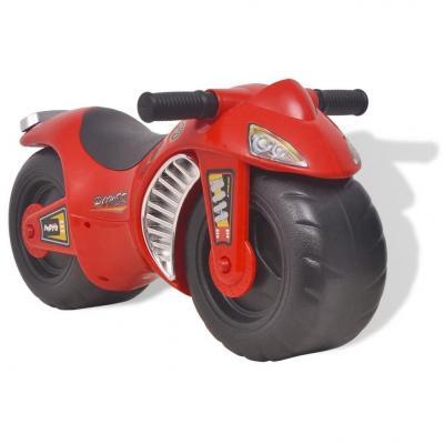 Emaga vidaxl motocykl - jeździk, plastikowy, czerwony