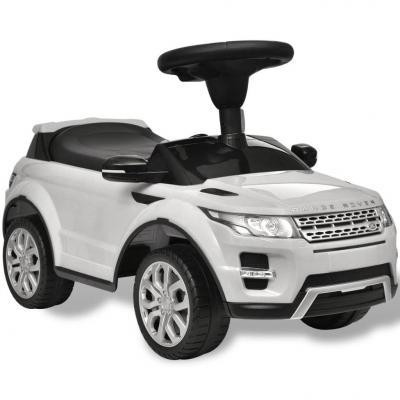Emaga land rover 348 samochód dla dzieci z muzyką, kolor biały