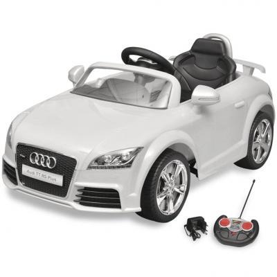 Emaga audi tt rs samochód dla dzieci z pilotem biały