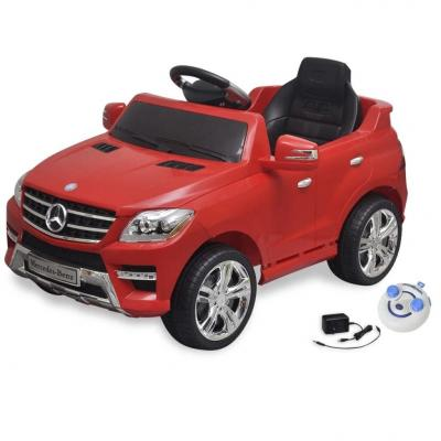 Emaga samochód elektryczny dla dzieci czerwony mercedes benz ml350 + pilot