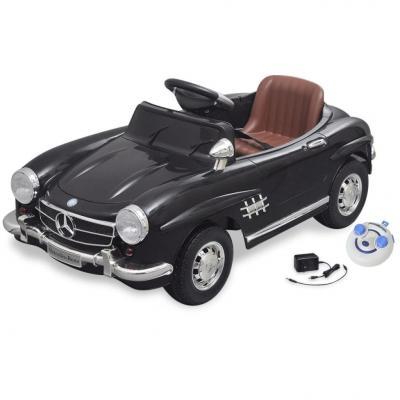 Emaga samochód elektryczny dla dzieci czarny mercedes benz 300sl 6v + pilot