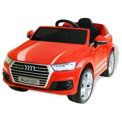 Emaga vidaxl elektryczny samochód dla dzieci, audi q7, czerwony, 6 v