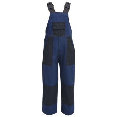 Emaga vidaxl dziecięcy kombinezon roboczy, rozmiar 122/128, niebieski