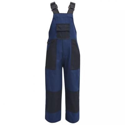Emaga vidaxl dziecięcy kombinezon roboczy, rozmiar 110/116, niebieski