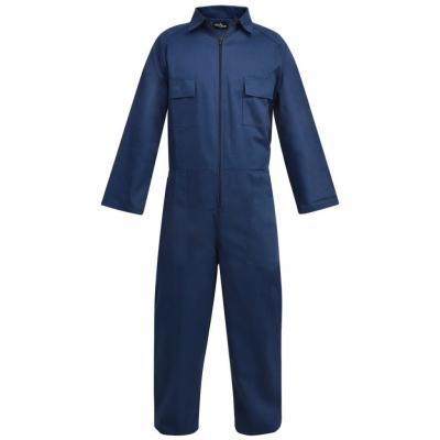 Emaga vidaxl męski kombinezon roboczy, rozmiar xxl, niebieski