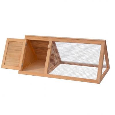Emaga vidaxl klatka dla królików, drewniana