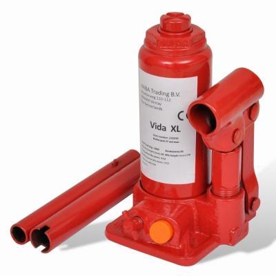 Emaga podnośnik hydrauliczny butelkowy do samochodów czerwony 2 t