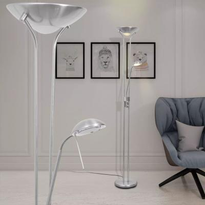 Emaga vidaxl lampa podłogowa led, przyciemniana, 23 w