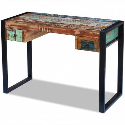 Emaga vidaxl biurko z drewna odzyskanego