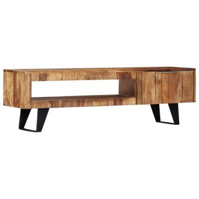 Emaga vidaxl szafka pod tv, 140x30x40 cm, lite drewno sheesham