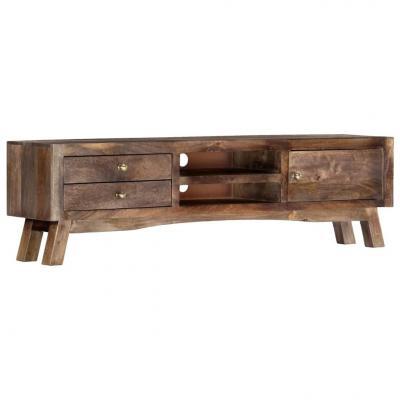 Emaga vidaxl szafka pod tv, 140x30x40 cm, lite drewno mango