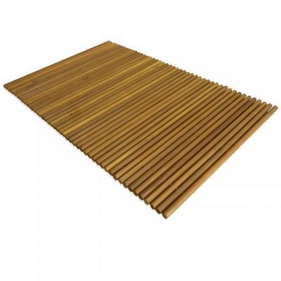 Emaga vidaxl mata łazienkowa, drewno akacjowe, 80 x 50 cm