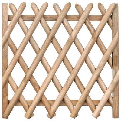Emaga vidaxl furtka ogrodowa, impregnowane drewno sosnowe, 100 x 100 cm