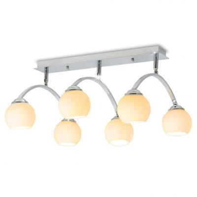 Emaga vidaxl lampa sufitowa na 6 żarówek led g9 240 w