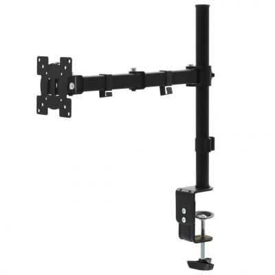 Emaga vidaxl uchwyt na biurko do monitora 32 cale, jedno ramię z regulacją