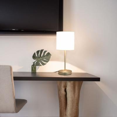 Emaga vidaxl lampy stołowe, 2 szt., dotykowe, białe, e14