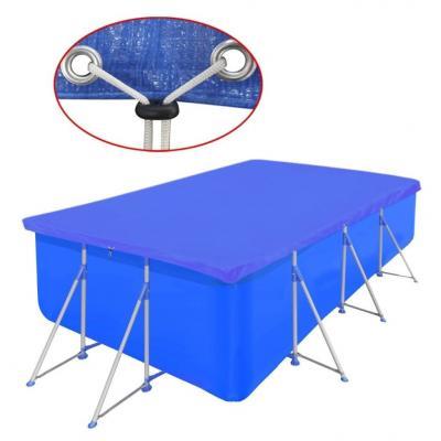 Emaga pokrywa na prostokątny basen, 394 x 207 cm, 90 g/m2