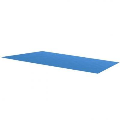 Emaga vidaxl plandeka na prostokątny basen, 260 x 160 cm, pe, niebieska