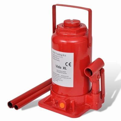 Emaga podnośnik hydrauliczny butelkowy do samochodów czerwony 20 t