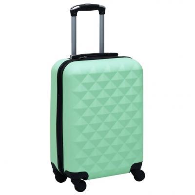 Emaga vidaxl twarda walizka na kółkach, miętowa, abs