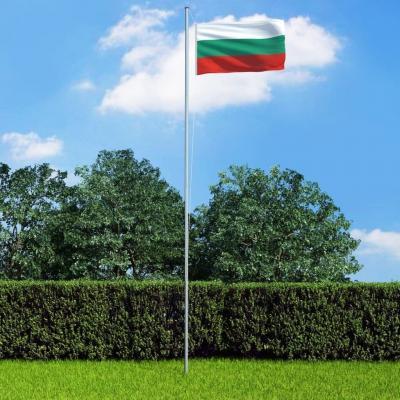 Emaga vidaxl flaga bułgarii, 90x150 cm
