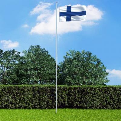 Emaga vidaxl flaga finlandii, 90x150 cm