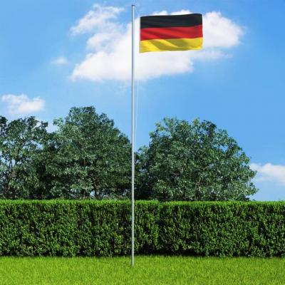Emaga vidaxl flaga niemiec, 90x150 cm