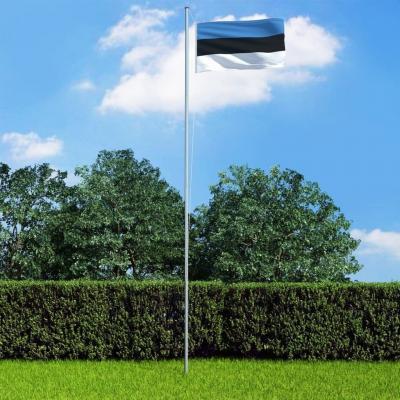 Emaga vidaxl flaga estonii, 90 x 150 cm