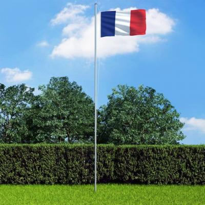 Emaga vidaxl flaga francji, 90x150 cm