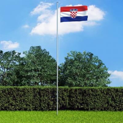 Emaga vidaxl flaga chorwacji, 90 x 150 cm