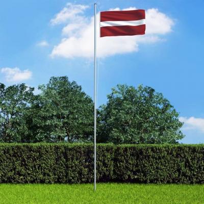 Emaga vidaxl flaga łotwy, 90x150 cm