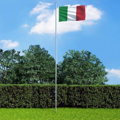 Emaga vidaxl flaga włoch, 90x150 cm