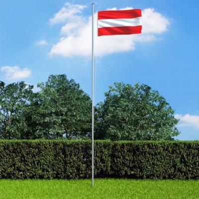 Emaga vidaxl flaga austrii, 90 x 150 cm