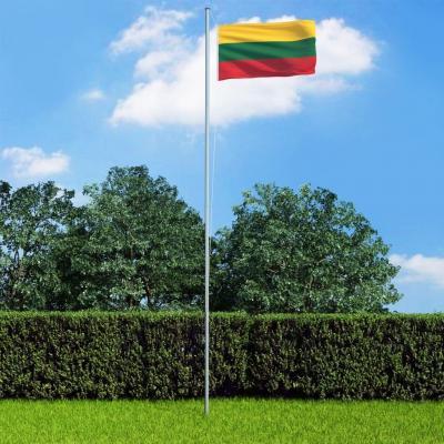 Emaga vidaxl flaga litwy, 90 x 150 cm