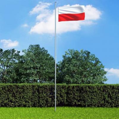 Emaga vidaxl flaga polski, 90x150 cm