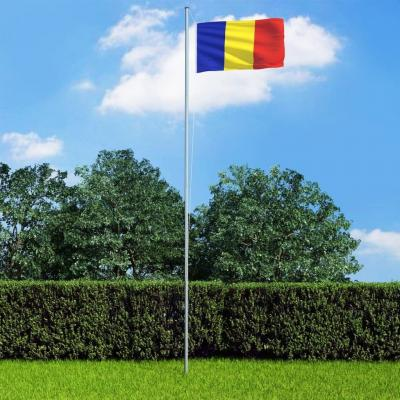 Emaga vidaxl flaga rumunii, 90x150 cm